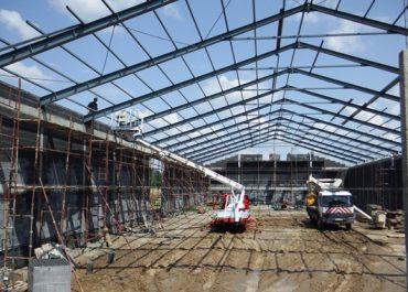 Realizacja – Budowa Hali Magazynowej (miejscowość - Ossowo gm.Lubraniec)