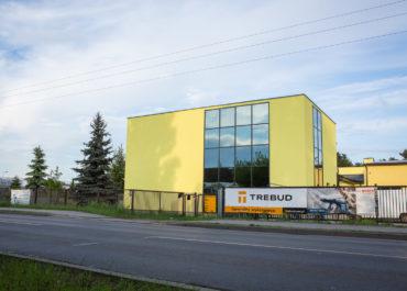 Budowa budynku handlowego dla firmy EL-MAK ukończona